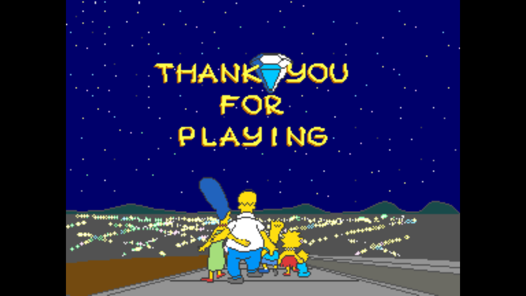 Beat the Simpsons Arcade!!!!